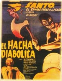Santo Vs. Machado Diabólico - Poster / Capa / Cartaz - Oficial 2