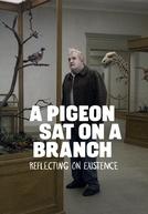 Um Pombo Pousou Num Galho Refletindo Sobre a Existência