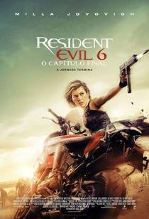 Resident Evil 6 - O Capítulo Final - Poster / Capa / Cartaz - Oficial 6