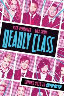 Deadly Class (1ª Temporada) - Poster / Capa / Cartaz - Oficial 3
