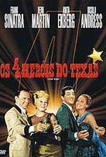 Os 4 Heróis do Texas - Poster / Capa / Cartaz - Oficial 4