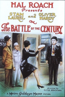The Battle Of The Century - Poster / Capa / Cartaz - Oficial 1