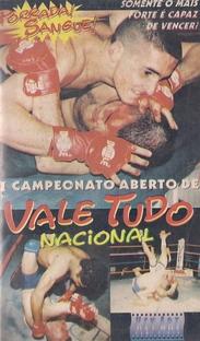 1º Campeonato Aberto de Vale Tudo Nacional - Poster / Capa / Cartaz - Oficial 1