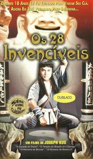 Os 28 Invencíveis - Poster / Capa / Cartaz - Oficial 1