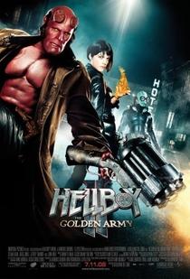 Hellboy II: O Exército Dourado - Poster / Capa / Cartaz - Oficial 3