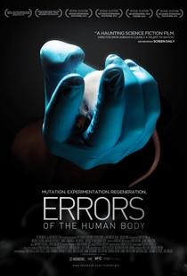Os Erros do Corpo Humano - Poster / Capa / Cartaz - Oficial 1