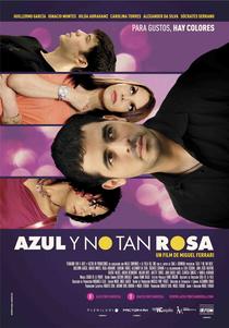 Azul e Não Tão Rosa - Poster / Capa / Cartaz - Oficial 4