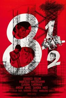 8½ - Poster / Capa / Cartaz - Oficial 8