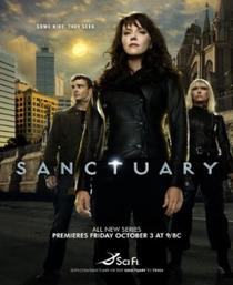 Sanctuary  (1ª Temporada) - Poster / Capa / Cartaz - Oficial 1