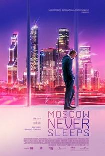 Moscou Nunca Dorme - Poster / Capa / Cartaz - Oficial 1