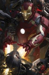 Vingadores: Era de Ultron - Poster / Capa / Cartaz - Oficial 13