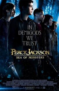 Percy Jackson e o Mar de Monstros - Poster / Capa / Cartaz - Oficial 2