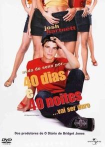 40 Dias e 40 Noites - Poster / Capa / Cartaz - Oficial 2