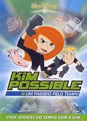 Kim Possible - Um Passeio Pelo Tempo - Poster / Capa / Cartaz - Oficial 1