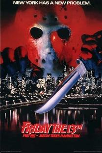 Sexta-Feira 13: Parte 8 - Jason Ataca Nova York - Poster / Capa / Cartaz - Oficial 2