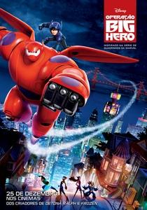 Operação Big Hero - Poster / Capa / Cartaz - Oficial 2