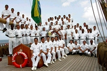 Navio Veleiro Cisne Branco, Uma Embaixada Flutuante - Poster / Capa / Cartaz - Oficial 3