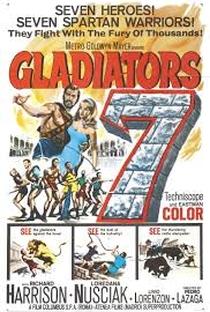 Os Sete Gladiadores - Poster / Capa / Cartaz - Oficial 1