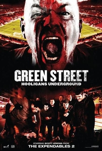 Green Street 3: Never Back Down - Poster / Capa / Cartaz - Oficial 1
