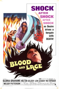 Blood And Lace - Poster / Capa / Cartaz - Oficial 1