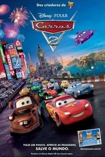 Carros 2 - Poster / Capa / Cartaz - Oficial 2