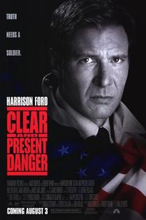 Perigo Real e Imediato - Poster / Capa / Cartaz - Oficial 1