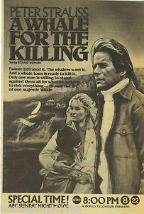 Uma Baleia para a Matança - Poster / Capa / Cartaz - Oficial 1