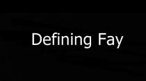 Defining Fay - Poster / Capa / Cartaz - Oficial 1