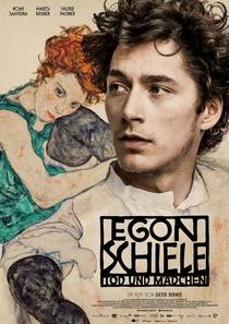 Egon Schiele: Morte e a Donzela - Poster / Capa / Cartaz - Oficial 1