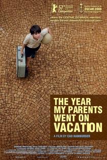 O Ano em que Meus Pais Saíram de Férias - Poster / Capa / Cartaz - Oficial 2
