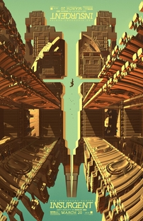 A Série Divergente: Insurgente - Poster / Capa / Cartaz - Oficial 19