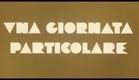 Una giornata particolare (1977) Italian trailer designed by Iginio Lardani