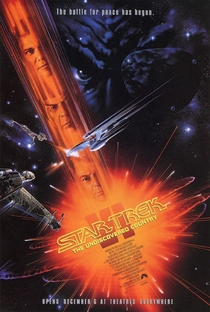 Jornada nas Estrelas VI: A Terra Desconhecida - Poster / Capa / Cartaz - Oficial 1
