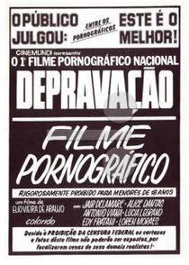Depravação - Poster / Capa / Cartaz - Oficial 1