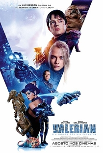 Valerian e a Cidade dos Mil Planetas - Poster / Capa / Cartaz - Oficial 1