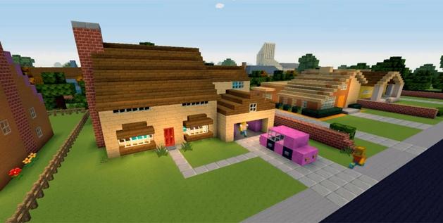 Os Simpsons ganham abertura em Minecraft