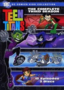 Os Jovens Titãs (3ª Temporada) - Poster / Capa / Cartaz - Oficial 1