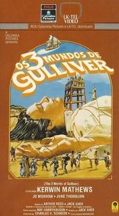 Os 3 Mundos de Gulliver - Poster / Capa / Cartaz - Oficial 2
