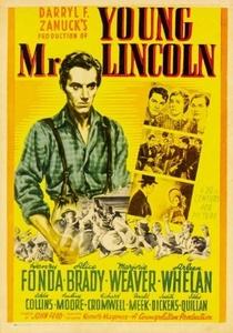 A Mocidade de Lincoln - Poster / Capa / Cartaz - Oficial 4