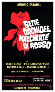 Sete Orquídeas Manchadas de Sangue - Poster / Capa / Cartaz - Oficial 5