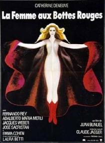 A Mulher Com Botas Vermelhas - Poster / Capa / Cartaz - Oficial 1