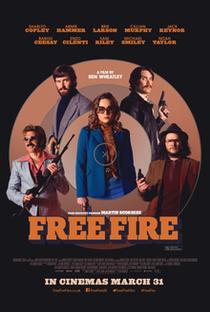 Free Fire: O Tiroteio - Poster / Capa / Cartaz - Oficial 8