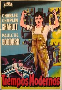Tempos Modernos - Poster / Capa / Cartaz - Oficial 6