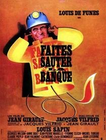 Faites Sauter la Banque - Poster / Capa / Cartaz - Oficial 1