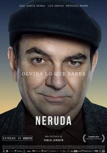 Neruda - Poster / Capa / Cartaz - Oficial 7