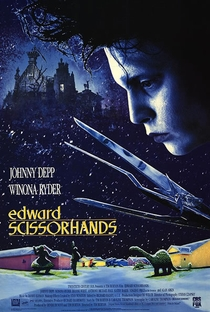 Edward Mãos de Tesoura - Poster / Capa / Cartaz - Oficial 1