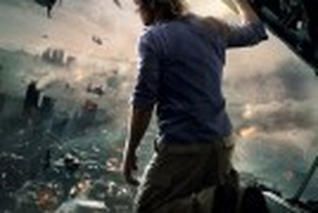 "Ataque zombie na segunda cena liberada de ""Guerra Mundial Z"""