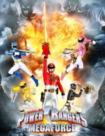 Power Rangers: Megaforce - Poster / Capa / Cartaz - Oficial 1