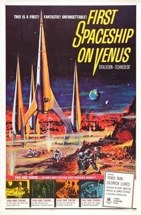 A Primeira Espaçonave em Vênus - Poster / Capa / Cartaz - Oficial 1