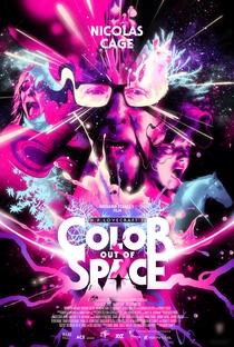 A Cor que Caiu do Espaço - Poster / Capa / Cartaz - Oficial 1